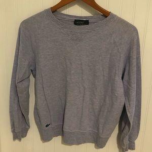 Lacoste Lavender textured cotton long slv tshirt L